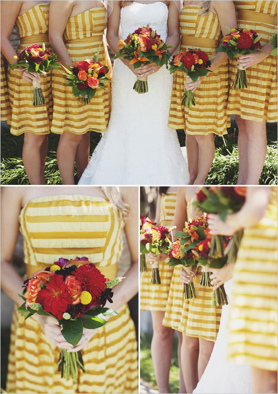 yellow_bridesmaid_dresses